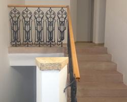 Bytový dům Brno, schodiště
