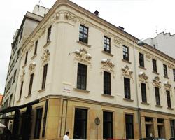 Barokní fasáda Brno
