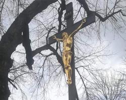 Kamenný  / litinový kříž, Letovice