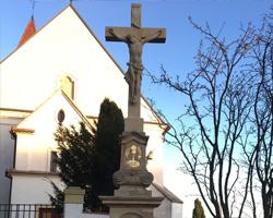 Kamenný kříž, Vanovice