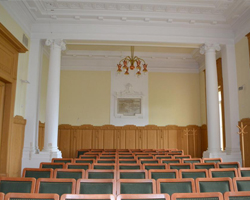 Restaurátorský průzkum interieru budovy pedagogické fakulty UHK