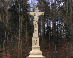 Pískovcový kříž, Žernůvka