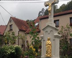 Mramorový kříž Štěpánovice