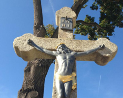 Žulový kříž Březina
