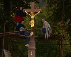 Pískový kříž Tišnov