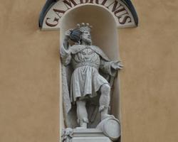 Socha Gambrina Lomnice