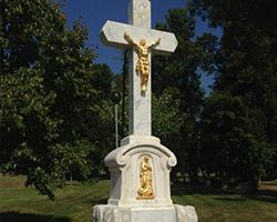 Mramorový kříž Drásov