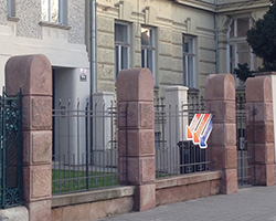 Kamenné oplocení Brno