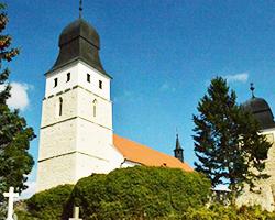 Kostelní věž Velká Bíteš